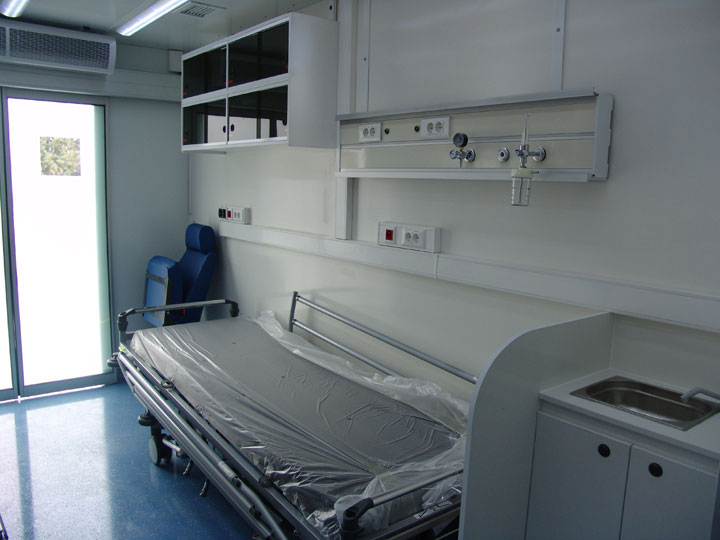Mobile HealthCare Vehicle