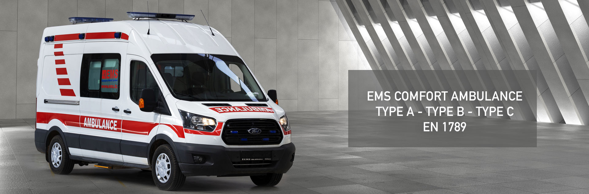 EMS Comfort Type Ambulance